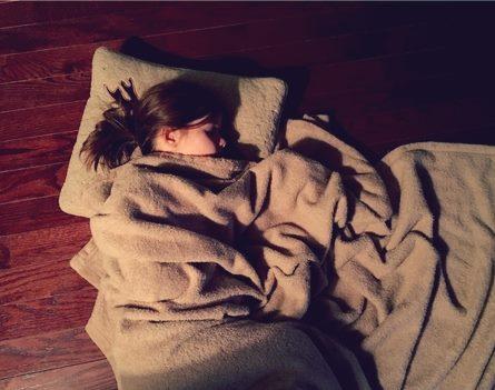 睡好,睡飽